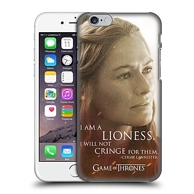 Official Hbo Game Of Thrones Character Portraits Cersei Lannister Hard Back Case For Apple Iphone 6 / 6S