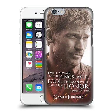 Official Hbo Game Of Thrones Character Portraits Jaime Lannister Hard Back Case For Apple Iphone 6 / 6S
