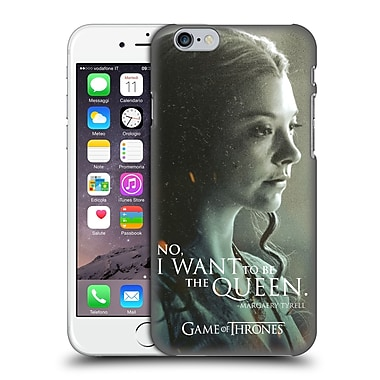Official Hbo Game Of Thrones Character Portraits Margaery Tyrell Hard Back Case For Apple Iphone 6 / 6S