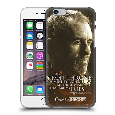 Official Hbo Game Of Thrones Character Portraits Stannis Baratheon Hard Back Case For Apple Iphone 6 / 6S