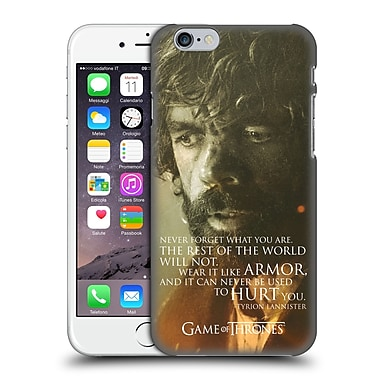 Official Hbo Game Of Thrones Character Portraits Tyrion Lannister Hard Back Case For Apple Iphone 6 / 6S
