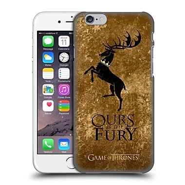 Official Hbo Game Of Thrones Dark Distressed Sigils Baratheon Hard Back Case For Apple Iphone 6 / 6S