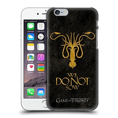 Official Hbo Game Of Thrones Dark Distressed Sigils Greyjoy Hard Back Case For Apple Iphone 6 / 6S