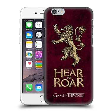 Official Hbo Game Of Thrones Dark Distressed Sigils Lannister Hard Back Case For Apple Iphone 6 / 6S