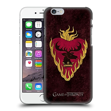 Official Hbo Game Of Thrones Dark Distressed Sigils Stannis Hard Back Case For Apple Iphone 6 / 6S