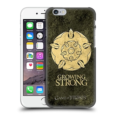 Official Hbo Game Of Thrones Dark Distressed Sigils Tyrell Hard Back Case For Apple Iphone 6 / 6S