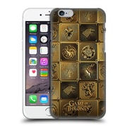 Official Hbo Game Of Thrones Golden Sigils All Houses Hard Back Case For Apple Iphone 6 / 6S
