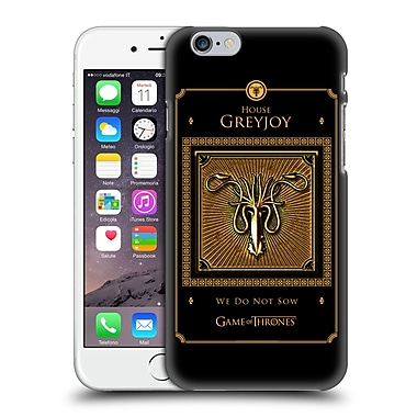 Official Hbo Game Of Thrones Golden Sigils Greyjoy Border Hard Back Case For Apple Iphone 6 / 6S