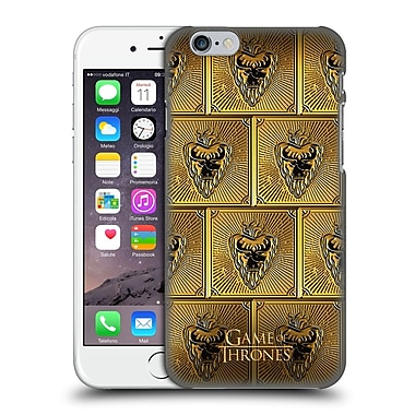Official Hbo Game Of Thrones Golden Sigils Stannis Hard Back Case For Apple Iphone 6 / 6S