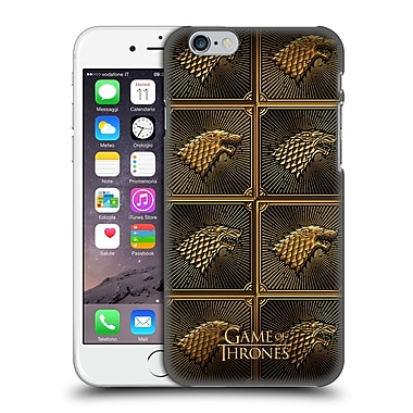 Official Hbo Game Of Thrones Golden Sigils Stark Hard Back Case For Apple Iphone 6 / 6S