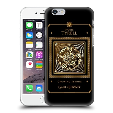 Official Hbo Game Of Thrones Golden Sigils Tyrell Border Hard Back Case For Apple Iphone 6 / 6S