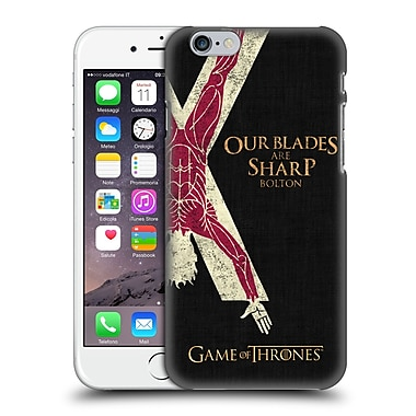 Official Hbo Game Of Thrones House Mottos Bolton Hard Back Case For Apple Iphone 6 / 6S