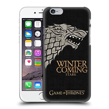 Official Hbo Game Of Thrones House Mottos Stark Hard Back Case For Apple Iphone 6 / 6S
