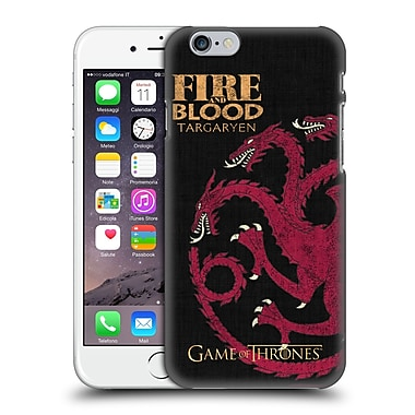 Official Hbo Game Of Thrones House Mottos Targaryen Hard Back Case For Apple Iphone 6 / 6S