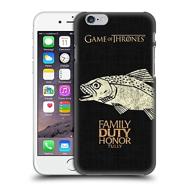 Official Hbo Game Of Thrones House Mottos Tully Hard Back Case For Apple Iphone 6 / 6S