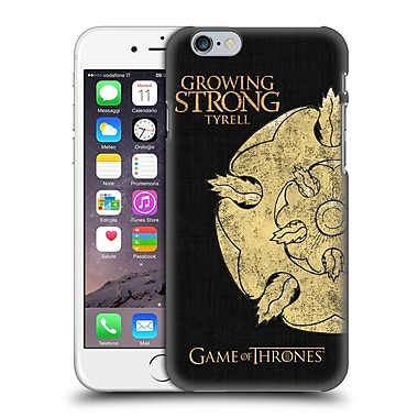 Official Hbo Game Of Thrones House Mottos Tyrell Hard Back Case For Apple Iphone 6 / 6S