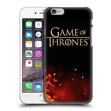 Official Hbo Game Of Thrones Key Art Logo Hard Back Case For Apple Iphone 6 / 6S