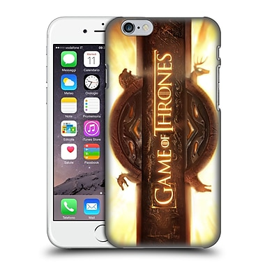 Official Hbo Game Of Thrones Key Art Opening Sequence Hard Back Case For Apple Iphone 6 / 6S