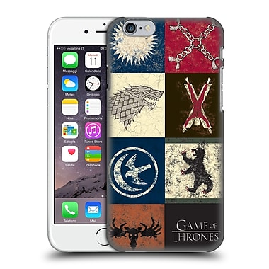 Official Hbo Game Of Thrones Battle Of The Bastards House Sigils Hard Back Case For Apple Iphone 6 / 6S