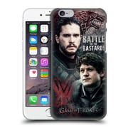 Official Hbo Game Of Thrones Battle Of The Bastards Jon Versus Ramsay Hard Back Case For Apple Iphone 6 / 6S