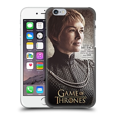 Official Hbo Game Of Thrones Character Quotes Cersei Lannister Hard Back Case For Apple Iphone 6 / 6S