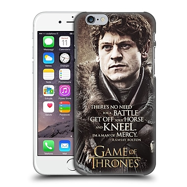 Official Hbo Game Of Thrones Character Quotes Ramsay Bolton Hard Back Case For Apple Iphone 6 / 6S