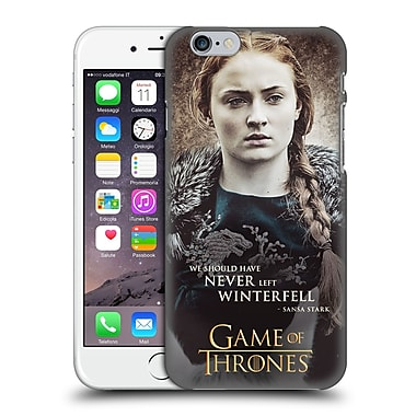 Official Hbo Game Of Thrones Character Quotes Sansa Stark Hard Back Case For Apple Iphone 6 / 6S