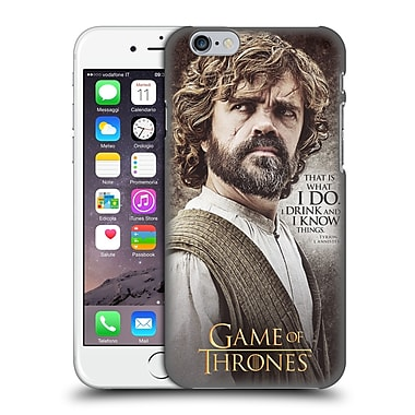 Official Hbo Game Of Thrones Character Quotes Tyrion Lannister Hard Back Case For Apple Iphone 6 / 6S