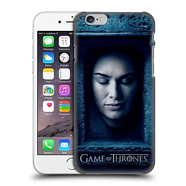 Official Hbo Game Of Thrones Faces Cersei Lannister Hard Back Case For Apple Iphone 6 / 6S