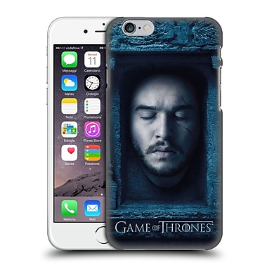 Official Hbo Game Of Thrones Faces Jon Snow Hard Back Case For Apple Iphone 6 / 6S