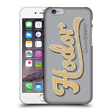 Official Hbo Game Of Thrones Hodor Athletic Typography Hard Back Case For Apple Iphone 6 / 6S