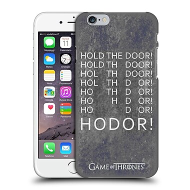 Official Hbo Game Of Thrones Hodor Hold The Door 2 Hard Back Case For Apple Iphone 6 / 6S