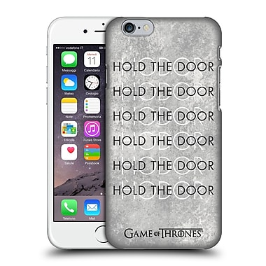 Official Hbo Game Of Thrones Hodor Hold The Door 3 Hard Back Case For Apple Iphone 6 / 6S