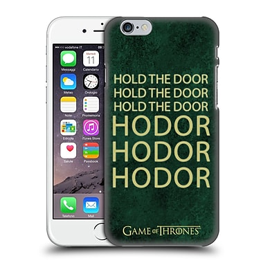 Official Hbo Game Of Thrones Hodor Name Hard Back Case For Apple Iphone 6 / 6S