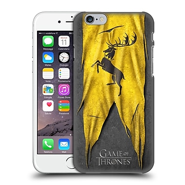 Official Hbo Game Of Thrones Sigil Flags Baratheon Hard Back Case For Apple Iphone 6 / 6S