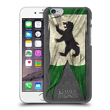 Official Hbo Game Of Thrones Sigil Flags Mormont Hard Back Case For Apple Iphone 6 / 6S