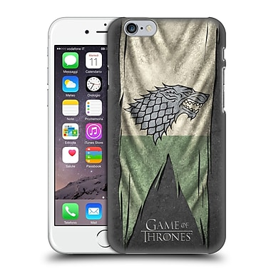 Official Hbo Game Of Thrones Sigil Flags Stark Hard Back Case For Apple Iphone 6 / 6S