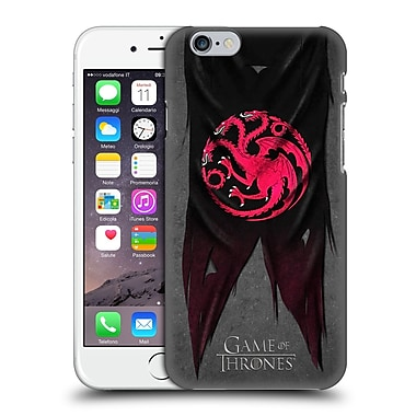 Official Hbo Game Of Thrones Sigil Flags Targaryen Hard Back Case For Apple Iphone 6 / 6S