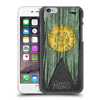 Official Hbo Game Of Thrones Sigil Flags Tyrell Hard Back Case For Apple Iphone 6 / 6S