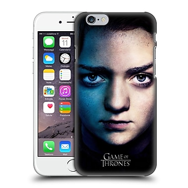 Official Hbo Game Of Thrones Valar Morghulis Arya Stark Hard Back Case For Apple Iphone 6 / 6S