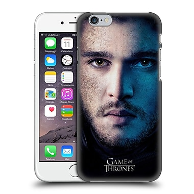 Official Hbo Game Of Thrones Valar Morghulis Jon Snow Hard Back Case For Apple Iphone 6 / 6S