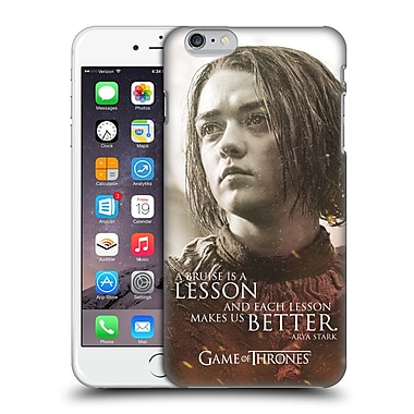 Official Hbo Game Of Thrones Character Portraits Arya Stark Hard Back Case For Apple Iphone 6 Plus / 6S Plus
