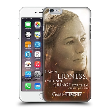 Official Hbo Game Of Thrones Character Portraits Cersei Lannister Hard Back Case For Apple Iphone 6 Plus / 6S Plus