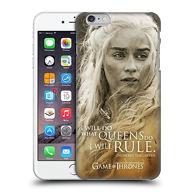Official Hbo Game Of Thrones Character Portraits Daenerys Targaryen Hard Back Case For Apple Iphone 6 Plus / 6S Plus