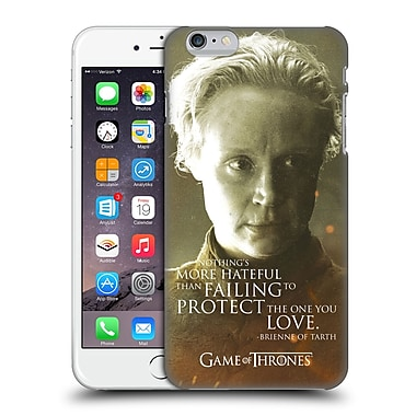 Official Hbo Game Of Thrones Character Portraits Brienne Of Tarth Hard Back Case For Apple Iphone 6 Plus / 6S Plus