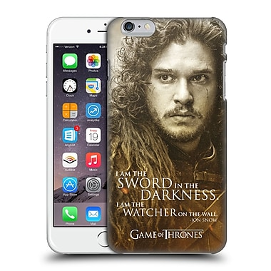 Official Hbo Game Of Thrones Character Portraits Jon Snow Hard Back Case For Apple Iphone 6 Plus / 6S Plus
