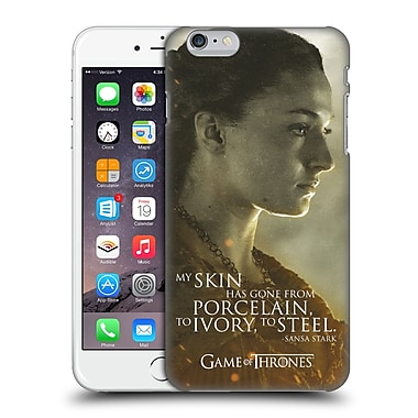 Official Hbo Game Of Thrones Character Portraits Sansa Stark Hard Back Case For Apple Iphone 6 Plus / 6S Plus