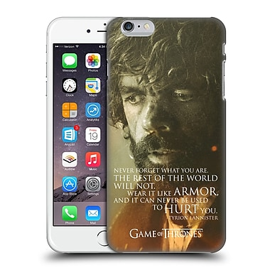 Official Hbo Game Of Thrones Character Portraits Tyrion Lannister Hard Back Case For Apple Iphone 6 Plus / 6S Plus
