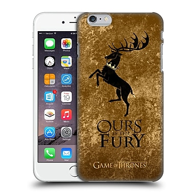 Official Hbo Game Of Thrones Dark Distressed Sigils Baratheon Hard Back Case For Apple Iphone 6 Plus / 6S Plus