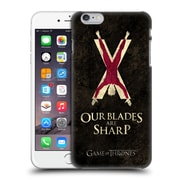 Official Hbo Game Of Thrones Dark Distressed Sigils Bolton Hard Back Case For Apple Iphone 6 Plus / 6S Plus